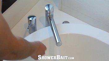 ShowerBait Shower fuck with Str8 Jay Montez and Alex Mecum thumbnail