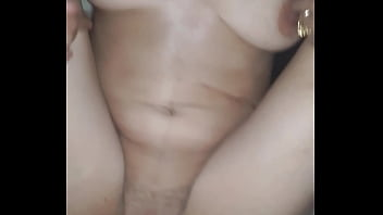 Grace gets a creampie from her husband