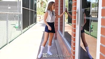 PASSION-HD After school gym fuck with school girl Lilly Ford pornhub video