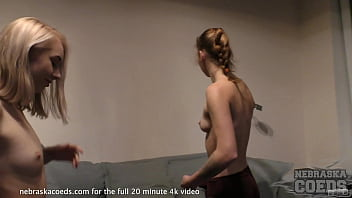 hot girls 1st time lesbo experimenting
