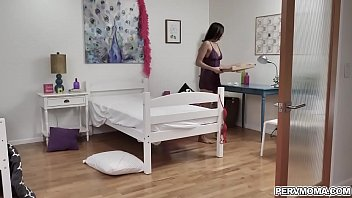 Stepmom Desiree Dulce Got Stucked Under The Bed And Fucked By Her Pervy Stepson