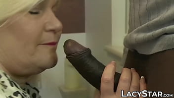 Busty Lacey Starr interracial anal penetration doggystyle