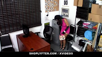 ShopLyfter - Thick Bottom Latina (Alina Belle) Caught Stealing Blows Security