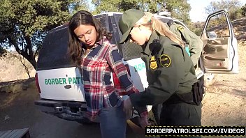 Mexican border sex Fuck that illegal pussy officers