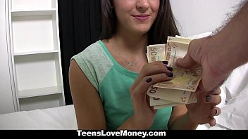 TeensLoveMoney - Spanish Waitress (Carolina Abril) Fucked For Money