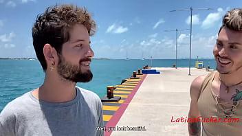 Hot Latino Gay Sex On Beach- Rob Silva, Ken