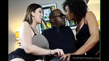 Moe Johnson introduces Sara Jay to Misty Stone