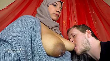 My husband likes my breast milk Arab milf breastfeeding her new husband