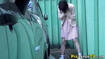Asian pee drenches calves preview image