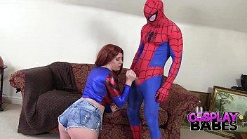 Cosplay Babes Spiderman Likes Big Boobs