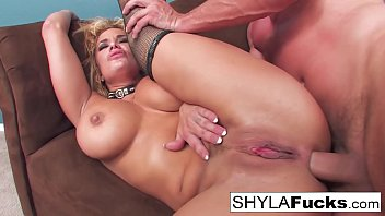 Busty Shyla Stylez's Hard Anal Fuck and a Facial