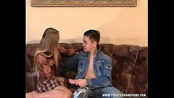 Russian sexy Irina fucks with Evgeniy