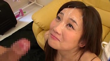 Mao Kurata gets a facial