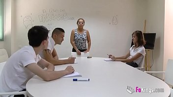 Summer Class with Jordi and Ainara will turn into an orgy