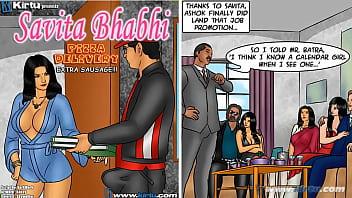 Saa Bhabhi Episode 78 – Pizza Delivery – Extra Sausage !!!