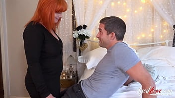AgedLovE Straight Sex With Busty Mature Redhead 10 min