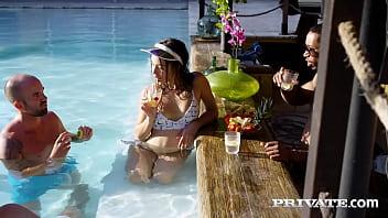 Private.com Orgy! Anya Krey, Talia Mint, Scarlet & Anastasia Brokelyn!