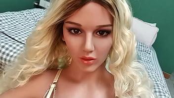 Boob boost Esdoll 156cm sexy blond beauty big boobs sex doll