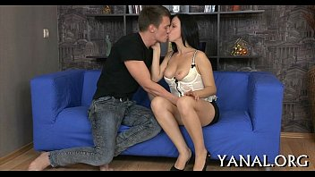 Bawdy cleft and anal get pounded