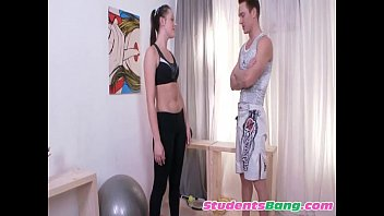 University Gym Teacher Training Student