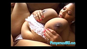 Ebony Big Girl Gets Her Pussy Fucked Hard