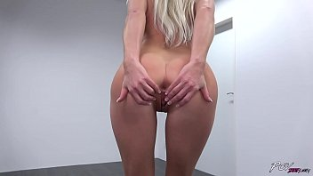 All Natural Blonde Does Striptease Before Taking Dick Pov 13 Min