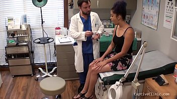 HUMAN GUINEA PIGS - PHOENIX ROSE - PART 1 OF 14 - CAPTIVE CLINIC COM - LATINA GET EXPERIMENTED ON BY DOCTOR, TRICKED & HUMILIATED