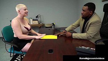 Thick Busty Beauty Riley Nixon Is Dark Dicked By Rome Major!