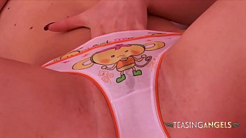 Naomi does an amazing striptease show for your eyes only