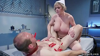 Model call male bdsm - Huge tits milf nurse anal fucks patient