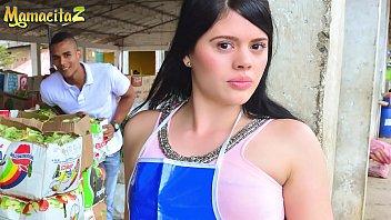 CARNE DEL MERCADO - #Luna Miel - Market Latina Girl Left Her Job To Have Some Fun With Alex Moreno 14分钟