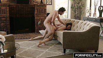 PORNFIDELITY Chanel Preston and James Deen Hardcore Living Room Fuck