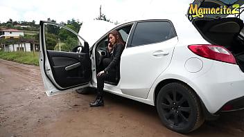 CARNE DEL MERCADO - Leela Moon & Logan Salamanca - POOR LATINA NEEDS SOME HELP WITH HER CAR!
