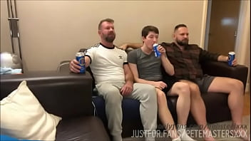 Stepdad and Uncle Fuck Son during Rugby :bob Steel, SeattleDad, PeteMasters 15 min