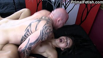 Interracial Erotic Massage w\/Wild Orgasms and Fucking