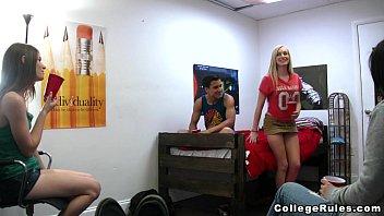 Bored College kids in Dorm