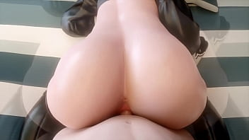 2B Getting Her Ass Pounded In Bed