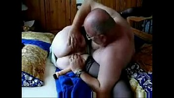 Granny and hubby still loves to have fun. Amateur