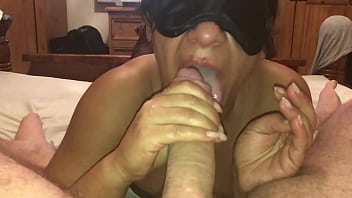 My Girlfriend a British Milf - POV Filming Closeup on My iPhone, Watching Her Sucking and Jerking My Big Hard Cock and Making Me Cum