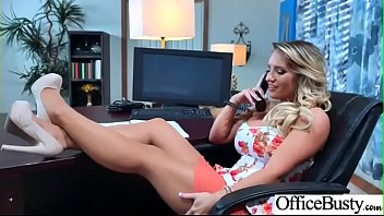 Slut Sexy Girl (Cali Carter) With Big Round Boobs In Sex Act In Office video-07