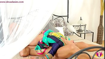 Husband playing naughty with eagerly waiting wife صورة