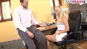 In Order To Increase Her Salary, She Fucks Her Boss Every Now And Then