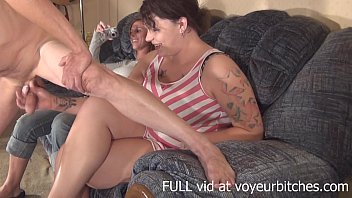 girl films her friend drooling cum