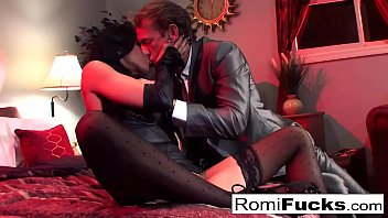 Vampire movie pussy - Businessman watches vampire movie then bangs an escort