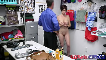 Busty Brunette MILF Bends Over For A Cop- Jessica Ryan