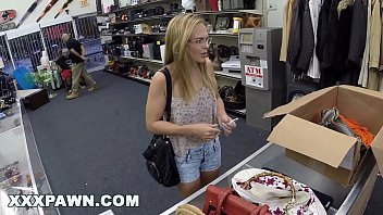 XXXPAWN - Girl Down On Her Luck Turns To Pawn Shop For Help