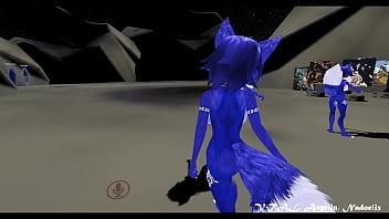 Yiffy starfox porn - Krystal furry fox dance