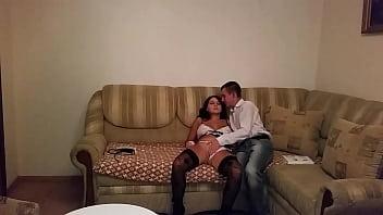 Gentle licking with the maid (MILF Alina Tumanova)