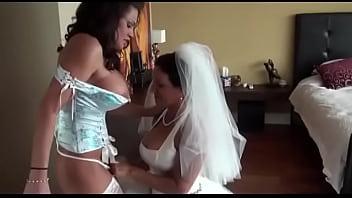 The hot bridesmaid