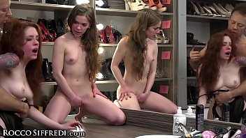 Huge Dick Rocco Siffredi Gapes His Obedient Subs! image